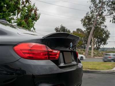 RW Signatures BMW F82 Carbon Fiber Trunk Spoiler /