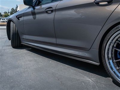 RW Signatures BMW G30/F90 Carbon Fiber Side Skirt Extensions /