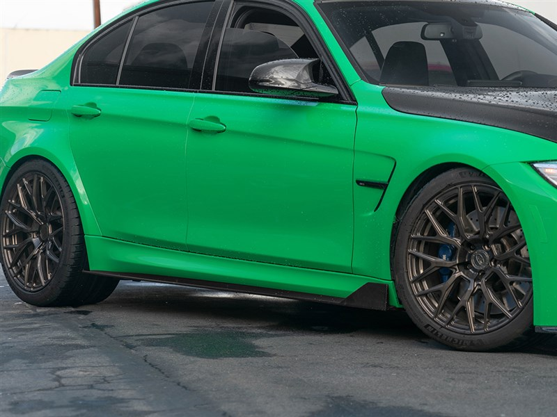 RW Signatures F80 M3 Type II Carbon Fiber Side Skirt Extensions