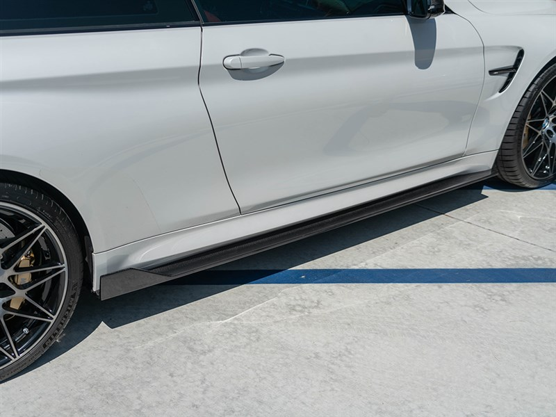 RW Signatures F82/F83 Type I Carbon Fiber Side Skirts